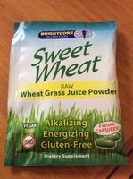 Sweet Wheat Raw Wheat Grass Juice Powder Capsules