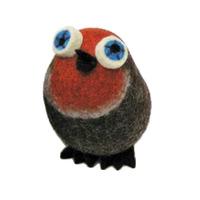 The Wool Felt Shop Christmas Robin