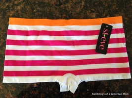 St. Eve Seamless Boyshort Pink Stripe