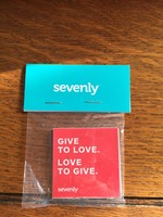 Sevenly Sticker Pack $7