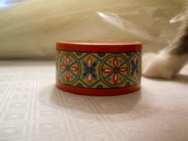 Handpainted Russian Wood Bracelet