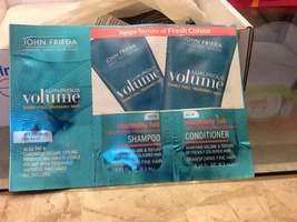 John Frieda 3 pack- shampoo, conditioner, & styling gel