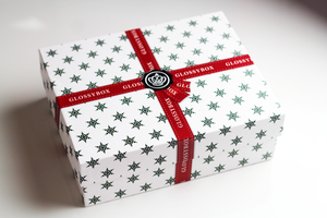 December Glossybox box (empty)
