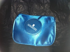 La Roche-Posay makeup bag with attached mirror
