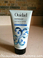 Ouidad Moisture Lock Define and Shine Curl Styling Gel-cream