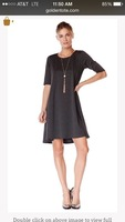 Cut and sew by goldentote swing dress
