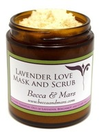 Becca & Mars Lavender Love Mask and Scrub