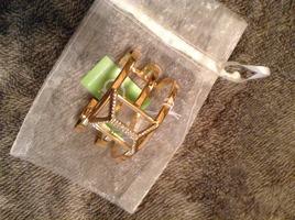 C Wonder Trapped Rock Cuff Bracelet