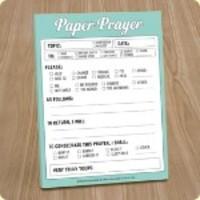 Knock Knock Paper Prayer Pad