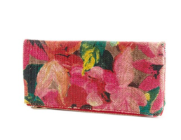 Painted Flowers Clutch