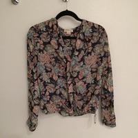 Clover floral blouse