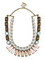 Bauble Bar - Concerto Layered Necklace in Topaz - $44