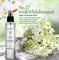 Dipodeur Dress Perfume Fabric Fresh Spray in Iris & Whitebouquet