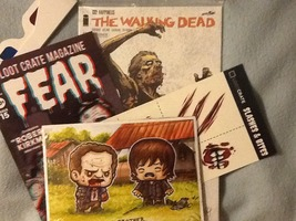 Zombie Items from October 2014 Loot Crate