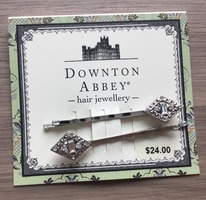 Downton Abbey hair jewellery