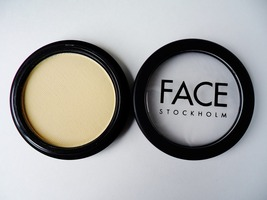 Face Stockholm matte eye shadow in Lemon