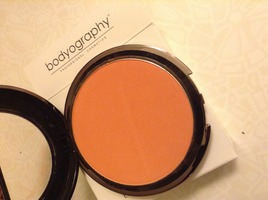 Bodyography every finish powder blush in the color Calypso