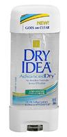 Dry Idea AdvancedDry Antiperspirant & Deodorant Clear Gel, Unscented