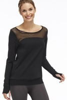Fabletics Weston pullover in black size medium new with tags attached SOLD OUT