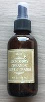 Grain Room Spray Cinnamon Clove and Orange