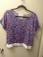 Cut + Sew floral top