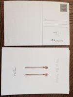 W + B Postcards