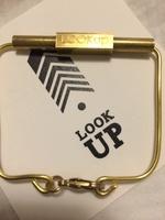Custom Look Up Bracelet by Morgan Blaul for Arianna Huffington Quarterly box