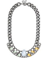 Curb Chain Collar Necklace