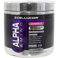 Cellucor Alpha Amino Sports Drink Powder - Ice Blue Razz