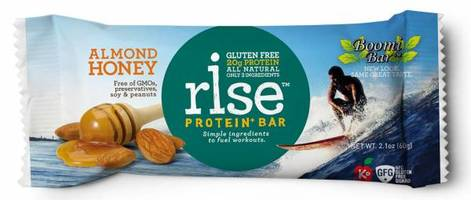 Rise Protein Bar in Almond Honey