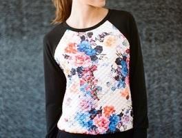 Le Lis Floral Sweater