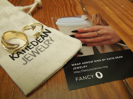 Wrap Arrow Ring by Katie Dean Jewelry