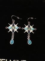 Jewelmint Rococo Cross Earrings