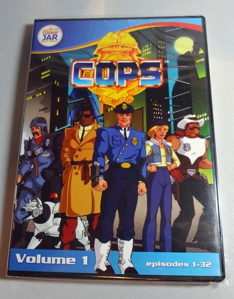 COPS DVD Cartoon Vol. 1 32 Episodes