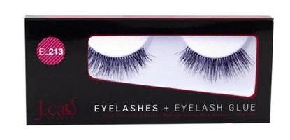 J.cat Beauty Eyelashes+Eyelash Glue