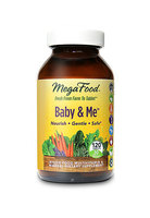 Mega Food Baby & Me whole food dietary supplement