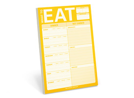 "Knock Knock ""What to Eat""  Notepad (Fridge Notepad for Meal Planning)"