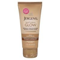 Jergens Natural Glow Daily Moisturizer Body Lotion Fair to Medium skin tones, travel size, 2fl.oz
