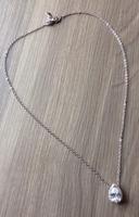 Cate & Chloe Tear Drop CZ Necklace