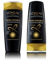 loreal total repair 5 restoring shampoo and conditioner