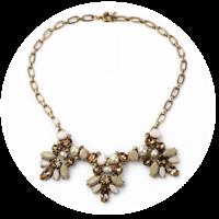 Coco collar necklace