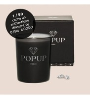 Popup candle 1 in 50 contains a diamond!