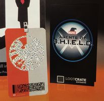 Replica Agents of Shield Lanyard- Loot Crate Exclusive