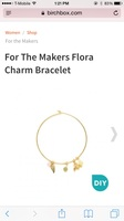 For the Makers DIY Flora Bracelet