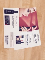$2 off any L'oreal Paris cosmetic product purchase