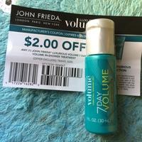 John Frieda Luxurious Volume 7 Day Volume