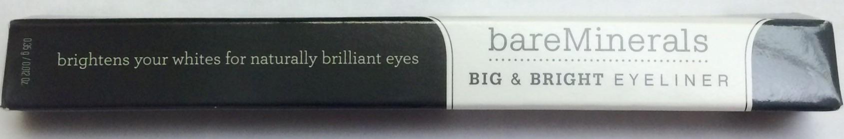 Bare Minerals Big & Bright Eyeliner - Charcoal
