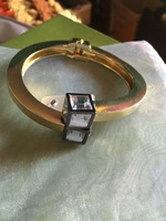 Romeo & Juliet Couture Geometric Bangle Bracelet