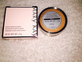 Mary Kay mineral foundation beige 2