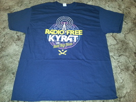 Far Cry 4 Blue T-Shirt (XL) - Radio Free Kyrat